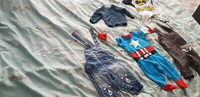 Job lot new baby clothes Boy 3-6 months