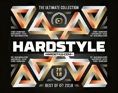 VARIOUS - Hardstyle Ultimate Collection-Best Of 2018 - (CD)