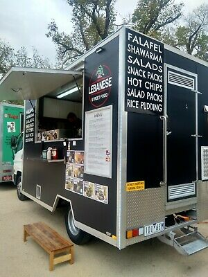 Food Truck Fully Equipped and Registered Mobile Catering Kitchen Van