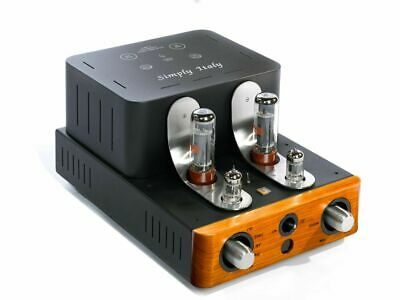 Unison Research Simply Italy Integrated Amplifier - Cherry - Brand New, Sale!
