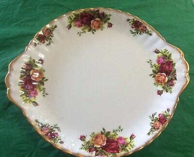 ROYAL ALBERT OLD COUNTRY ROSES  Large Bread And Butter / Serving Plate