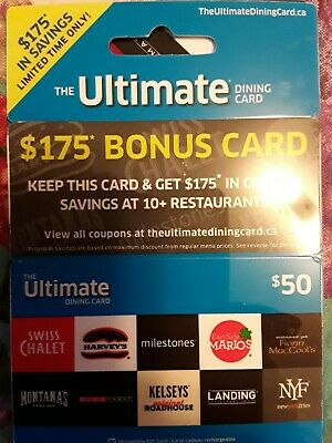 The Ultimate Dining Gift Card - Worth $50