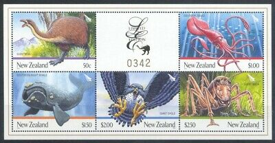Neuseeland New Zealand - 2009 Limited Edition 43 Tiere Animals Giants Block 231