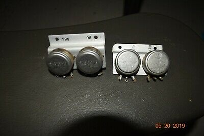 4 1961 western electric ks potentiometers type J 5000 ohm GR tube amp A-B