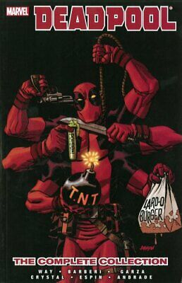Deadpool By Daniel Way: The Complete Collection Volume 4 9780785160120