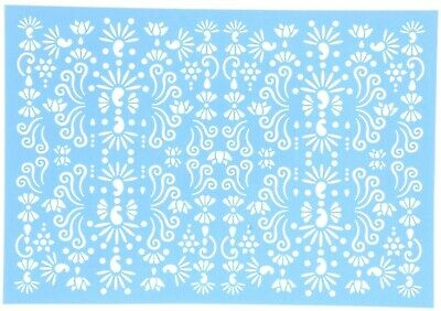 Bollywood Stencil For Cake Making Chocolate Sugarcraft #38 - 3 Pack