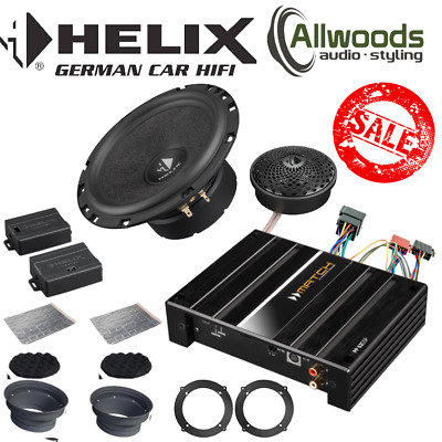 Audi Upgrade Helix S62C+Match PP 62DSP+Plug & Play Harness+Adapters