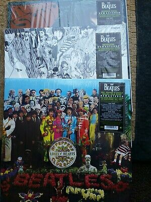 The Beatles Rubber Soul, Revolver, Sgt Peppers Club Band Remastered Stereo Vinyl