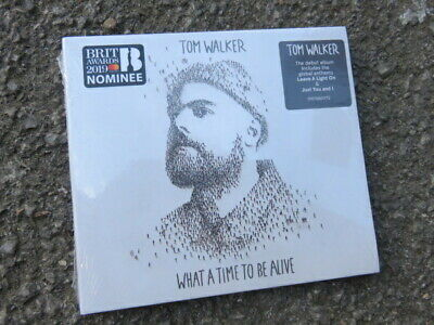 TOM WALKER - WHAT A TIME TO BE ACTIVE CD. BRAND NEW & SEALED. Freepost.