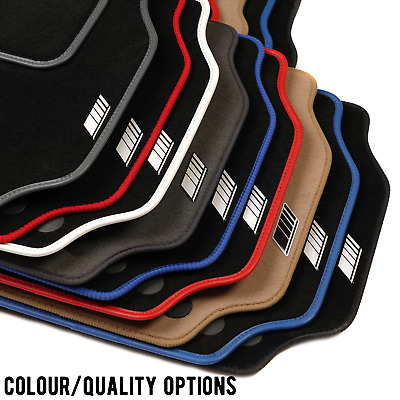Car Mats Specific For Mercedes C Class AMG 14-on +Inspired Logos +Colour Choices