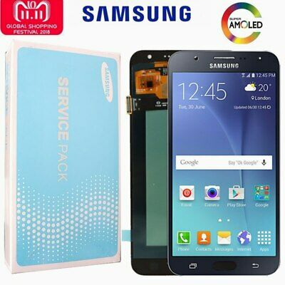 "ORIGINAL 5.5"" AMOLED LCD for SAMSUNG Galaxy J7 2015 Display J700 Touch Screen"
