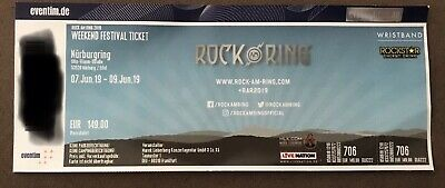 Rock am Ring 2019 Weekend Ticket.