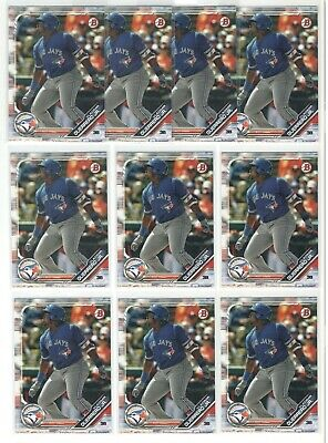 x10 VLADIMIR GUERRERO Jr. 2019 Bowman Baseball Rookie Card RC lot/set Blue Jays!
