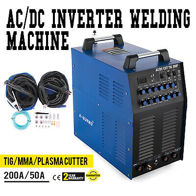 Inverter Welder WIG-200P Pulse - HF TIG MMA ARC AC/DC Best Comfortable 200Amp