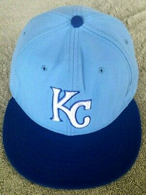detailed look 2b419 c3a6a New Era MLB Authentic~ KANSAS CITY Royals 2018 ~ 59 FIFTY Fitted Hat Cap ~