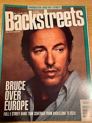 BACKSTREETS MAGAZINE BRUCE Springsteen Summer 1985 #2 Volume 4