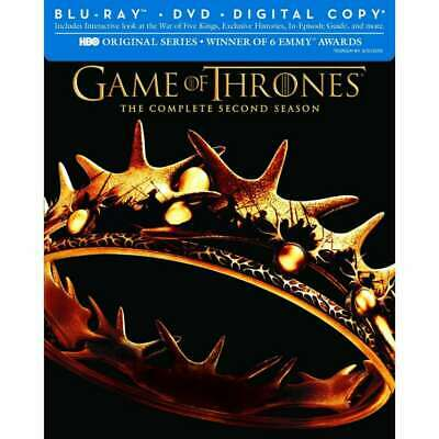 Game of Thrones: Season 2 [Blu-ray] DVD, Sean Bean, Alfie Allen, Mark Addy, Harr