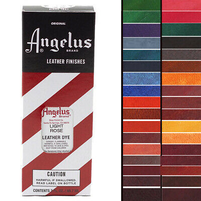 U-P-Mx Angelus Permanent Leather Dye With Applicator 3Oz All Colors