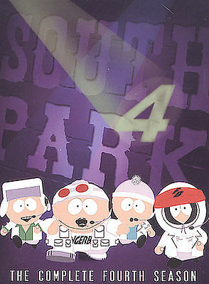 South Park: Complete Season 4 DVD (3 Discs) Collectors Ed. NEW/SEALED Ships free