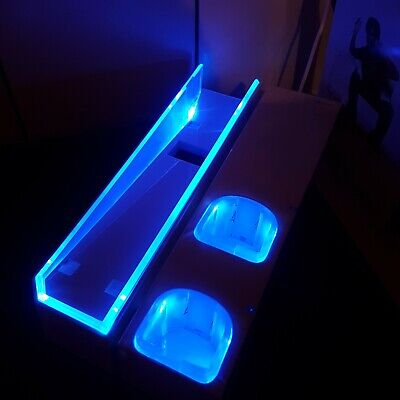 4gamers Console Stand with Blue LED for Nintendo Wii Console