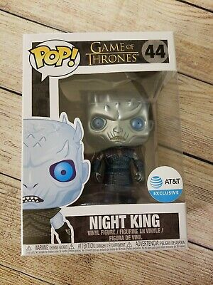 Funko Pop Night King Metallic AT&T Exclusive. Game of Thrones. Good box. ATT