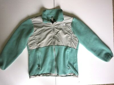 1f13505c6 GIRL'S THE NORTH FACE Full Zip Jacket Hoodie Size XL (18) AQUA ...
