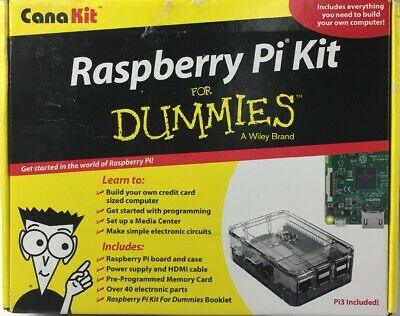 CanaKit Raspberry Pi Kit for Dummies Pi 3 Included
