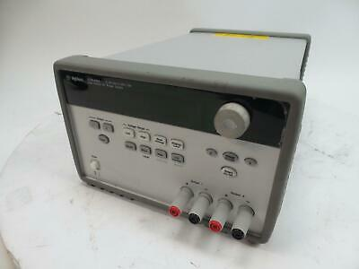 Agilent E3646A Dual Output DC Power Supply 0-8V, 3A/ 0-20V, 1.5A