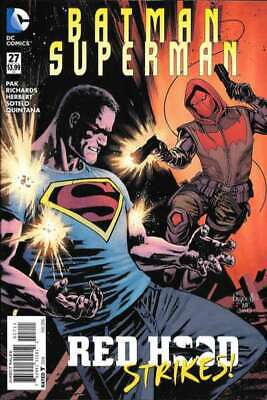 Batman/Superman (2013 series) #27 in Near Mint condition. DC comics [*ff]