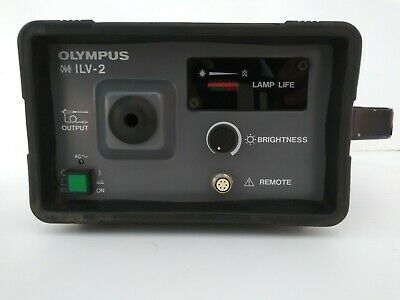 Olympus Industrial ILV-2 OES Xenon Light Source includes instruction manual