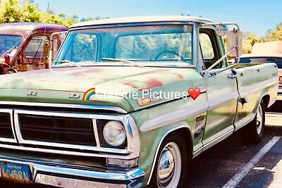 🌸 Digital Picture Image Photo Wallpaper Desktop Screensaver Beautiful Old Truck