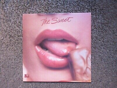 """The Sweet """"The Sweet"""" 1976 Kory Records Reissue Nm/Nm- Oop Glam Rock Lp"""