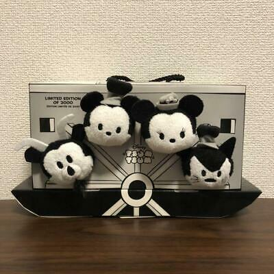 Disney Steamboat Willie Tsum Tsum Box D23 Expo 2015 Plush Toy Doll LE 2000 Japan