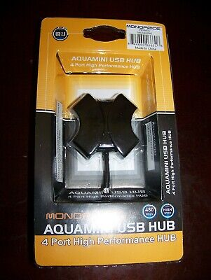 Monoprice Aquamini Usb Hub-4 Port