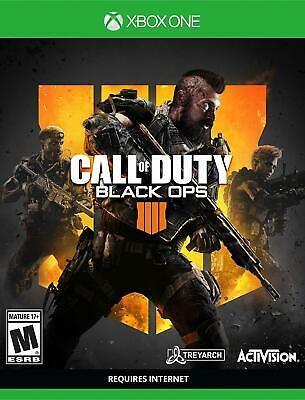 Brand NEW & SEALED!!! Call of Duty: Black Ops 4 - Xbox One Standard Edition