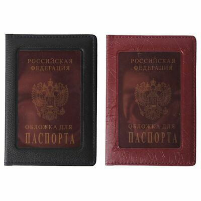 2X(Passport Cover Waterproof The Cover of the Passport Transparent Clear Ca G5E2