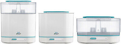 Philips AVENT 3 in 1 Electric Baby Bottle Steam Sterilizer