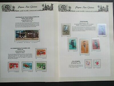 ESTATE: Papua New Guinea Collection on Pages - Must Have!! Great Value (p2277)