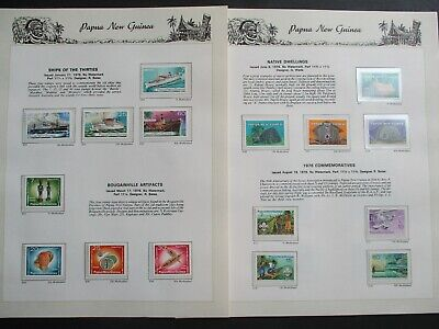 ESTATE: Papua New Guinea Collection on Pages - Must Have!! Great Value (p2279)