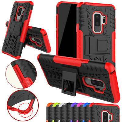 Heavy Duty Armour Tough ShockProof Builder Case Cover For Samsung Galaxy series