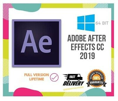 Adobe After Effects CC 2019 for WINDOWS ⚡️⚡️Fast Delivery⚡️⚡️