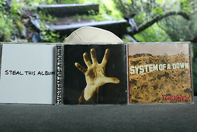 System Of A Down - / Steal This Album / System Of A Down / Toxicity CDs