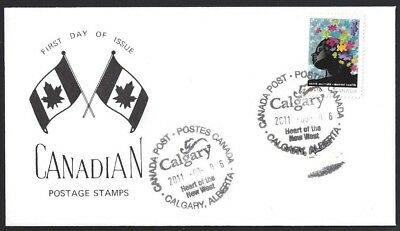 Canada   # B18    Mental Health Special Event Cachet   New 2011 Unaddressed