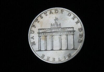 Gedenkmünze 5 Mark DDR 1981 Berlin Brandenburger Tor vz-st