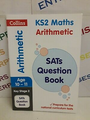 Collins KS2 Year 6 Age 10-11 MATHS Numeracy Arithmetic SATs Question Book