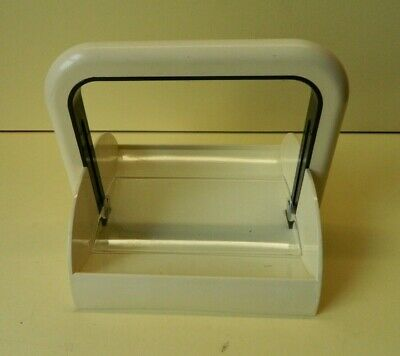 Vintage Mid-Century Guzzini Napkin Holder Made in Italy