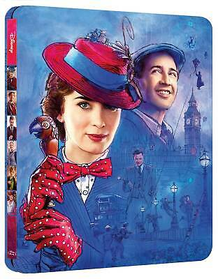 Mary Poppins - Il Ritorno (Steelbook) (Blu-Ray) WALT DISNEY