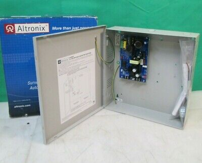 Altronix AL300ULX Power Supply/Battery Charger, 12/24VDC, 2.5A NEW FREE SHIPPING