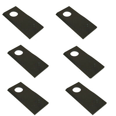 (6 Pack)- Disc Mower Blades 9847683 for Case IH Ford New Holland, Free Shipping!