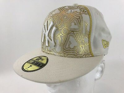 wholesale dealer 02a9c fd4f9 NY 59Fifty NY Yankees Sz 7 A small Adult or Youth Baseball Cap New York lid